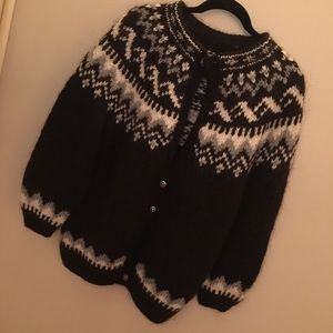 Sweaters - Hand knitted sweater from Iceland
